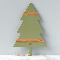"MH Charcuterie Board - Mod Tree - Large 24""L - Sage"
