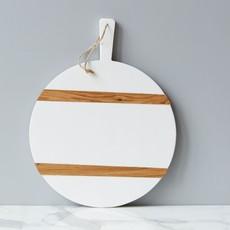 MH etuHome Charcuterie Board - Round - Medium - White
