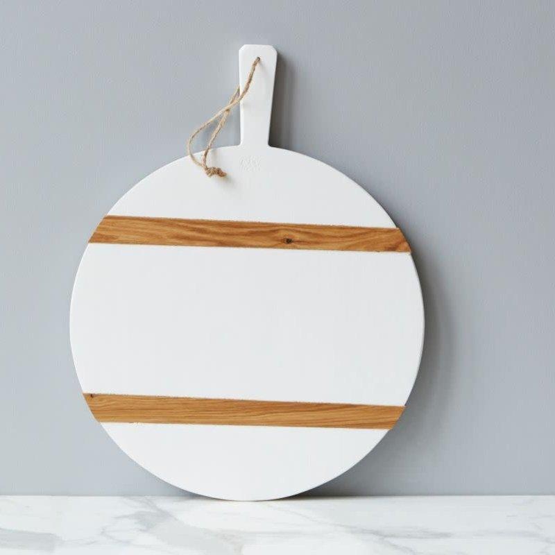 etuHOME Charcuterie Board - Round - Medium - White