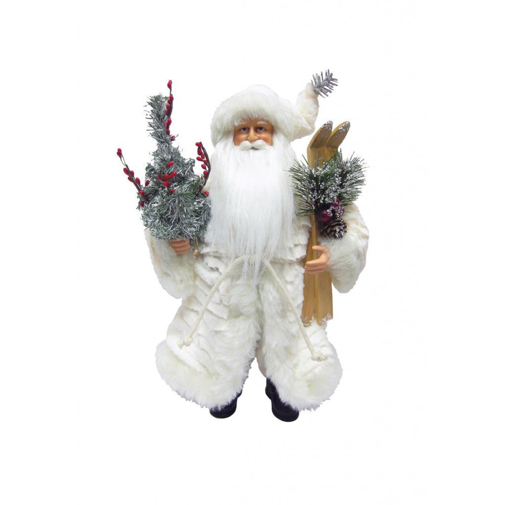 Santa - Winter White - 15""