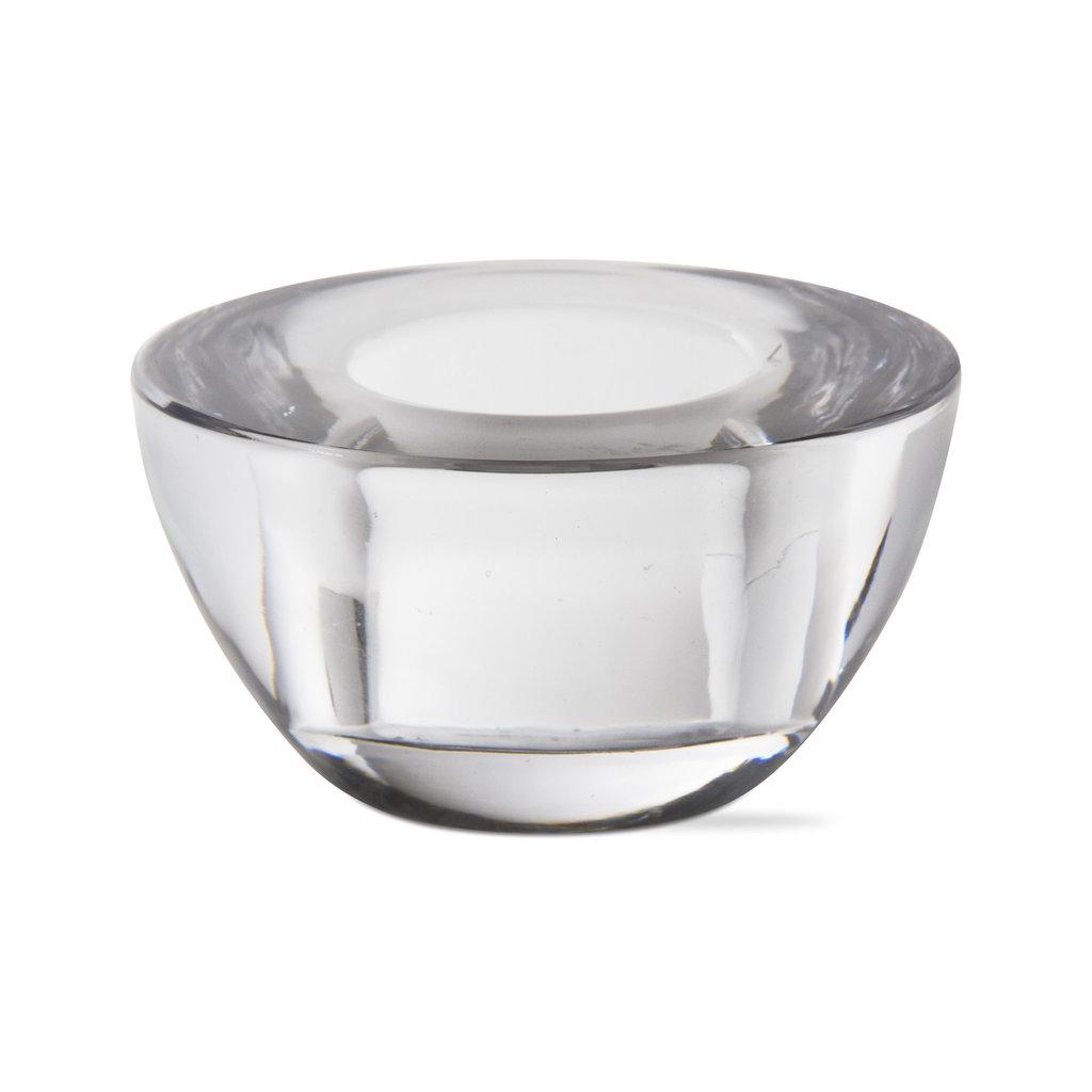 MH Tealight - Luna - Clear Glass