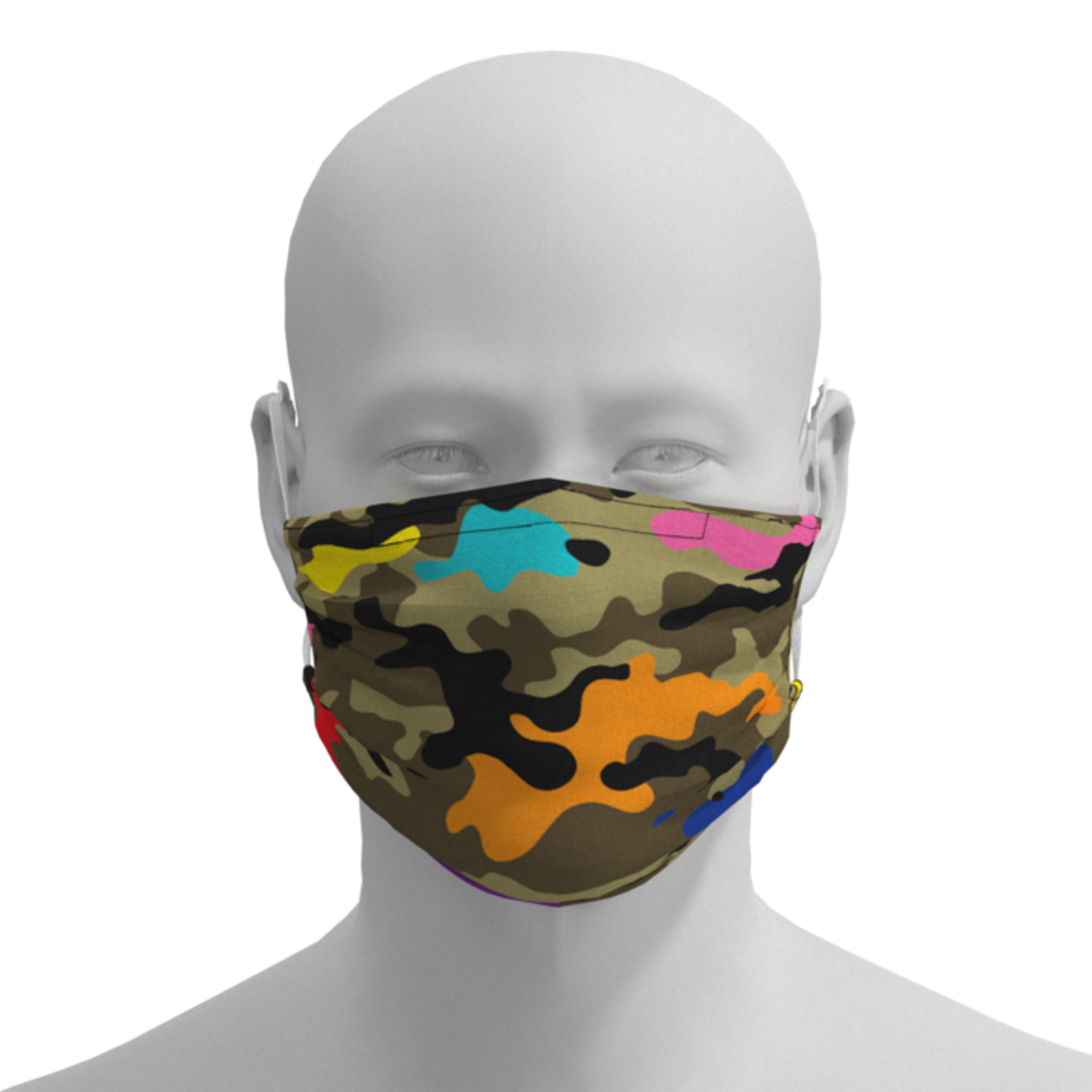 MH Face Mask - Camo - Adult, Kid, Toddler