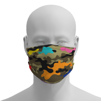 Face Mask - Camo - Adult, Kid, Toddler