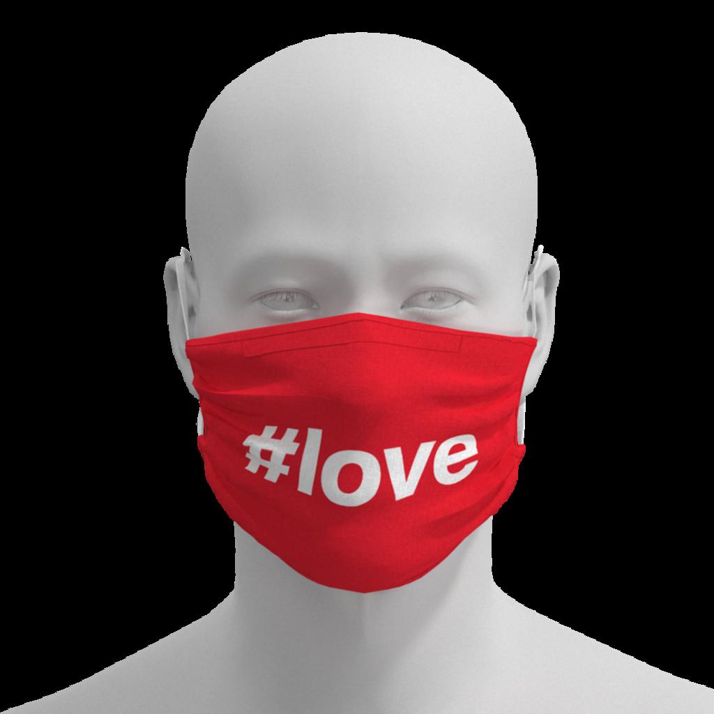 Face Mask - #Love
