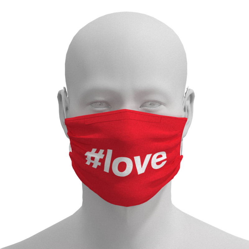 MH Face Mask - #Love