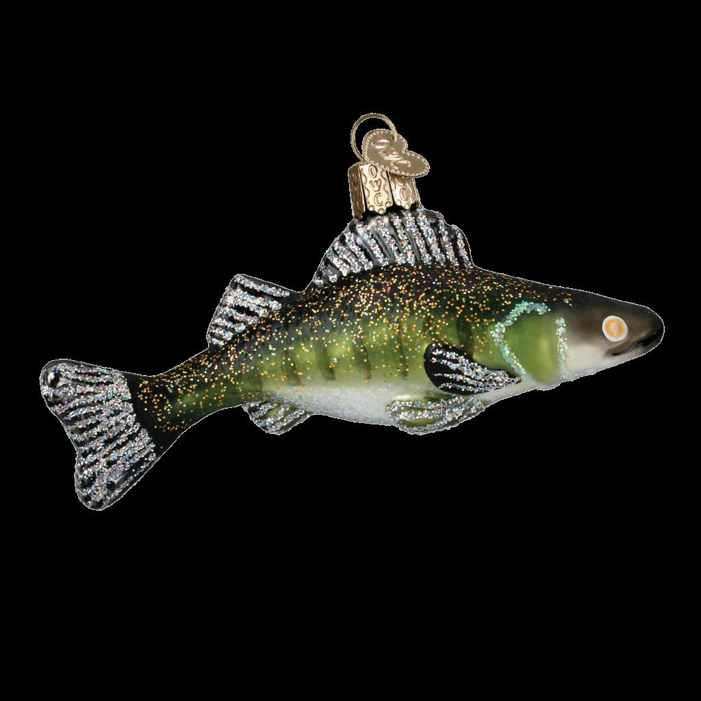 Ornament - Blown Glass - Walleye