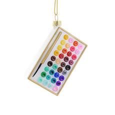 Ornament - Blown Glass - Watercolor Set