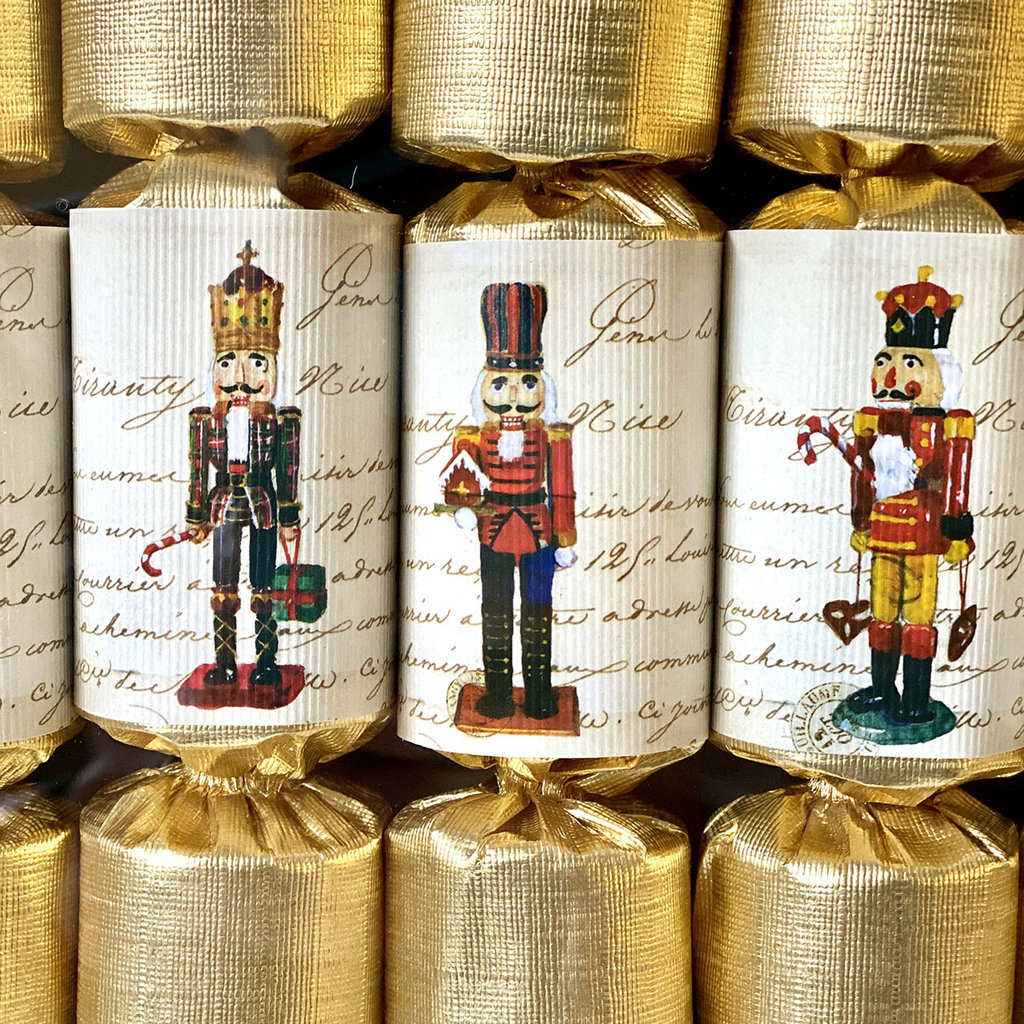 Christmas Crackers - Nutcrackers - Party Crackers - S/10