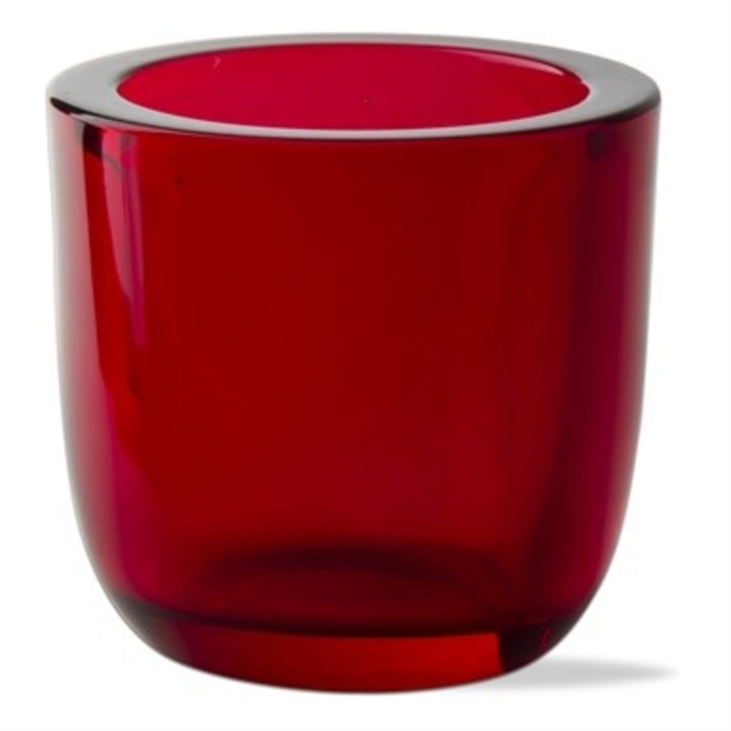 Tealight Holder - Glass - Assorted Colors