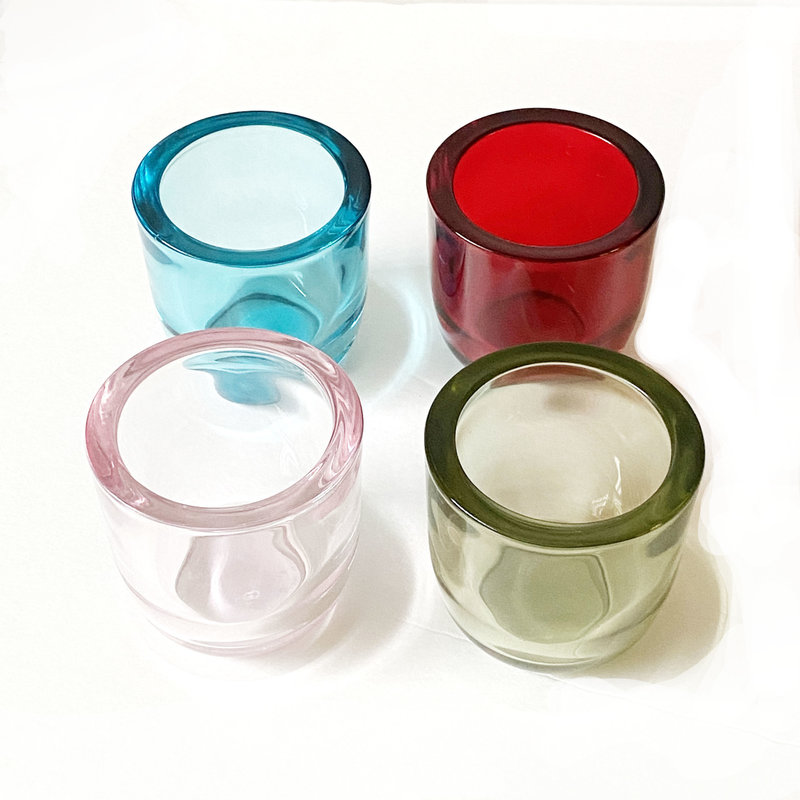 TAG Tealight Holder - Glass - Assorted Colors