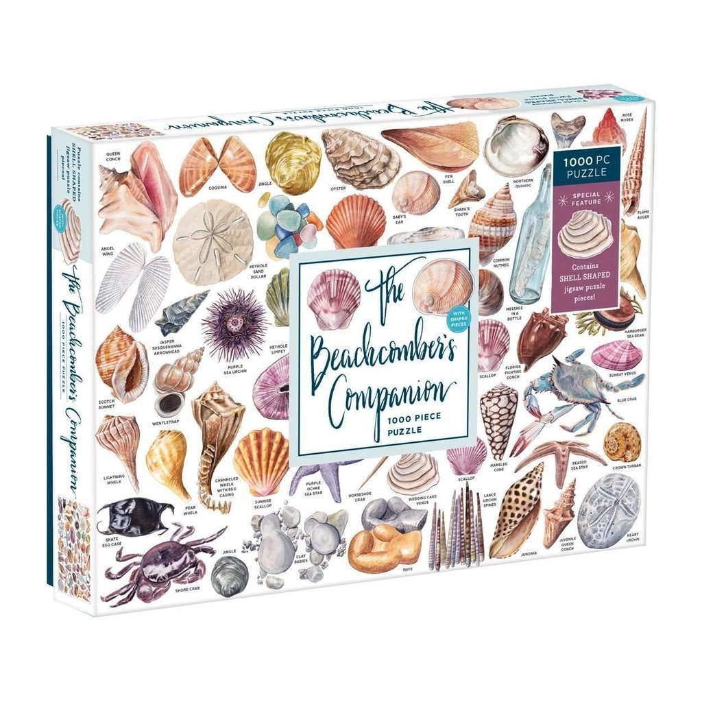 Hachette Book Group - Vendome Press - Chronicle Books Puzzle -  Beachcomber - 1000 Pieces