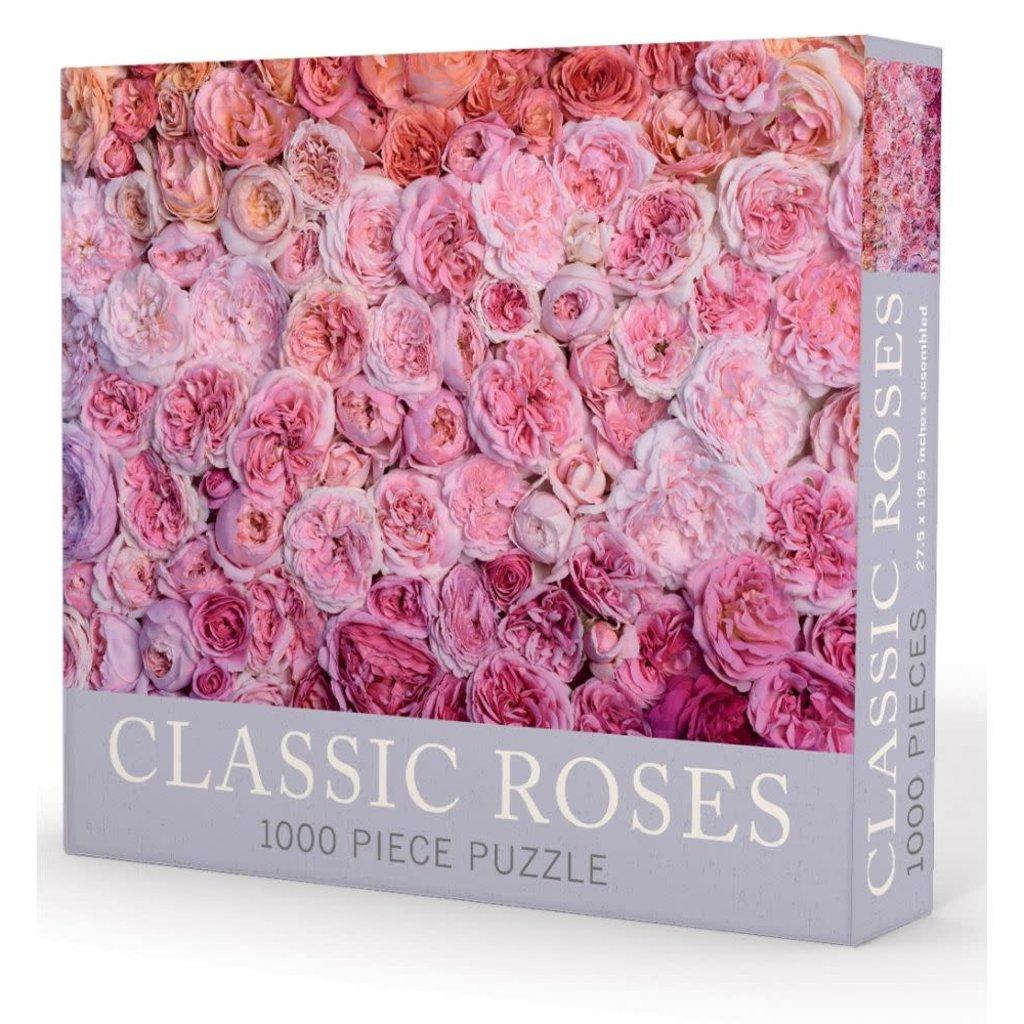 "MH Puzzle - Classic Roses - 1000 Pieces - 27.5"" x 19.5"""