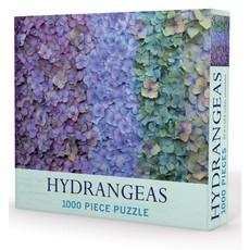 "Gibbs Smith Publisher Puzzle - Hydrangeas - 1000 Pieces - 27.5"" x 19.5"""