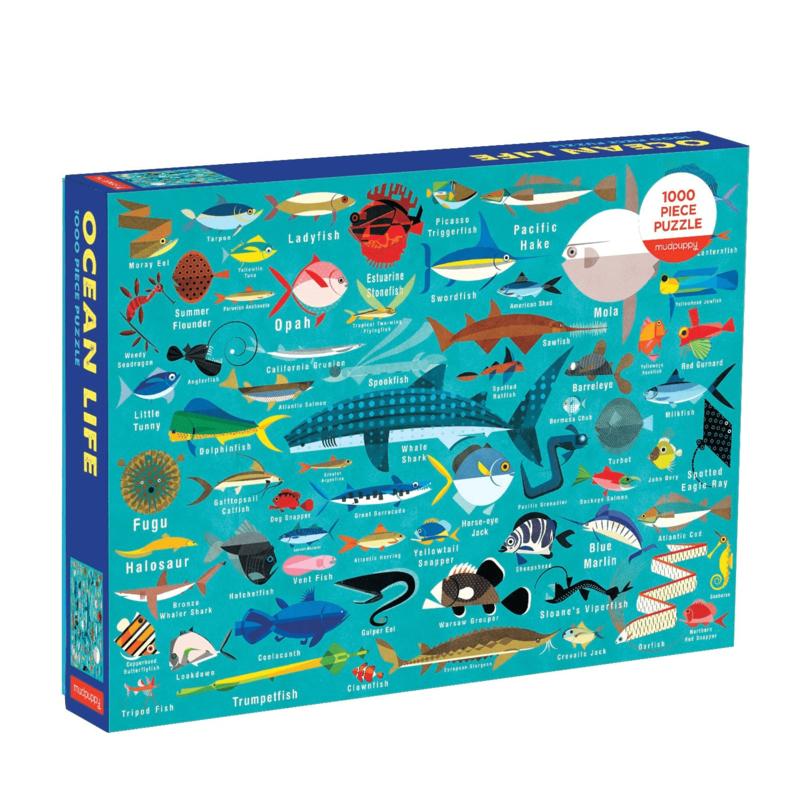 Puzzle - Ocean Life - 1000 Pieces