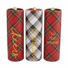 Fireplace Matches - Tartan Tub Sets - Assorted