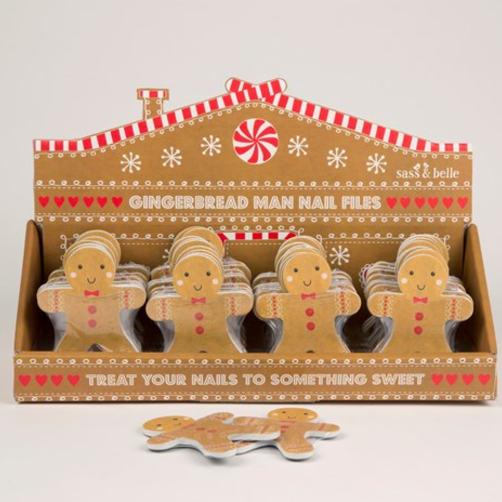 Holiday - Nail File - Gingerbread Man