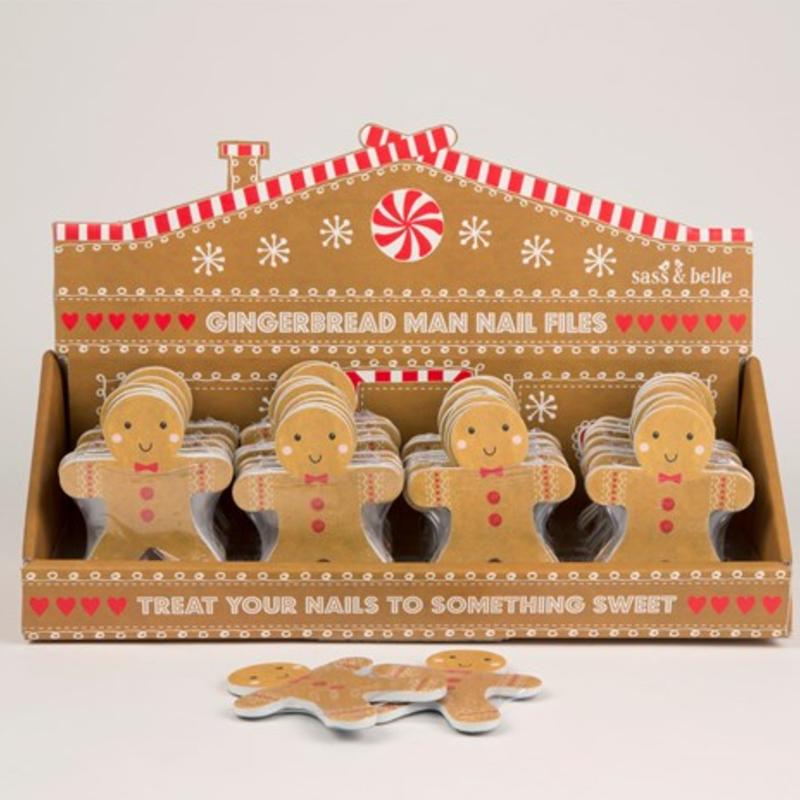 Holiday - Nail File - Gingerbread Man