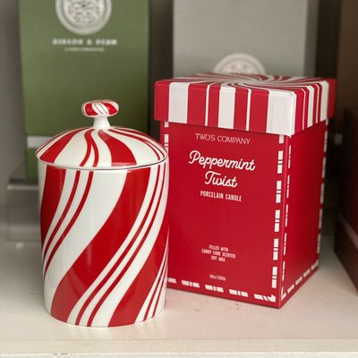 Holiday - Candle - Peppermint Soy -