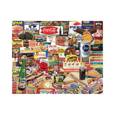 Hart Puzzles Puzzle - Boomers' Favorite Foods - 1000 pieces