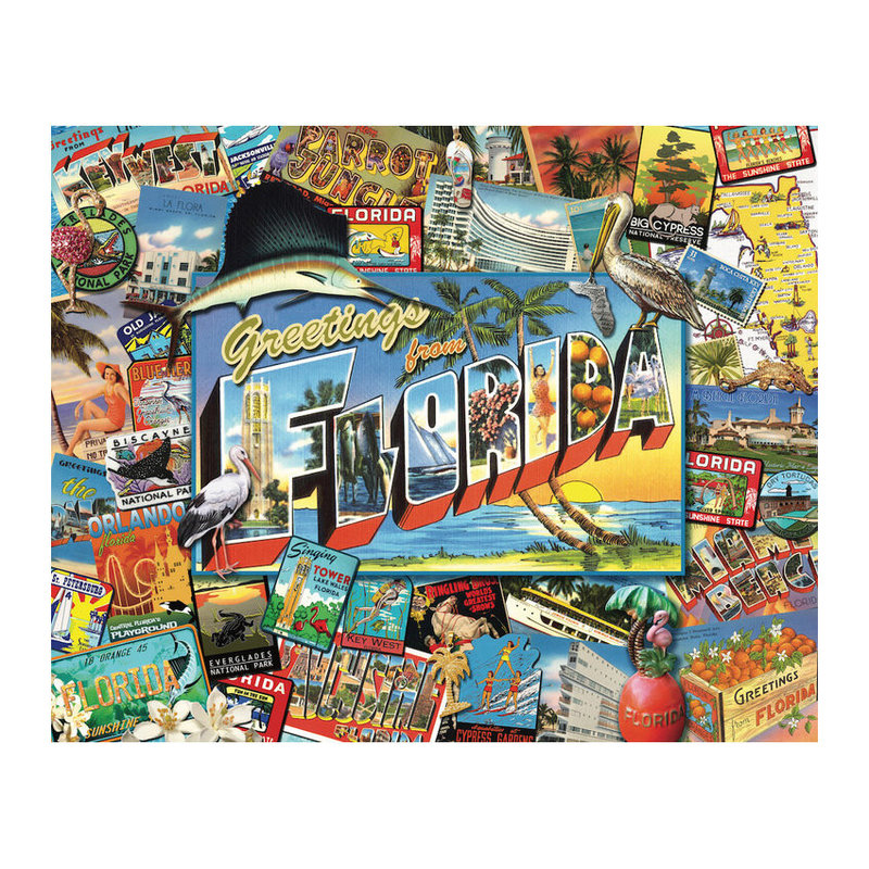 Hart Puzzles Puzzle - Greetings from Florida - 1000 pieces