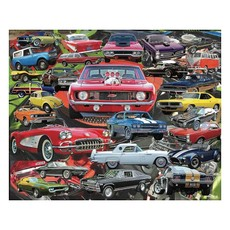 MH Puzzle - Boomers' Favorite Cars - 1000 pieces
