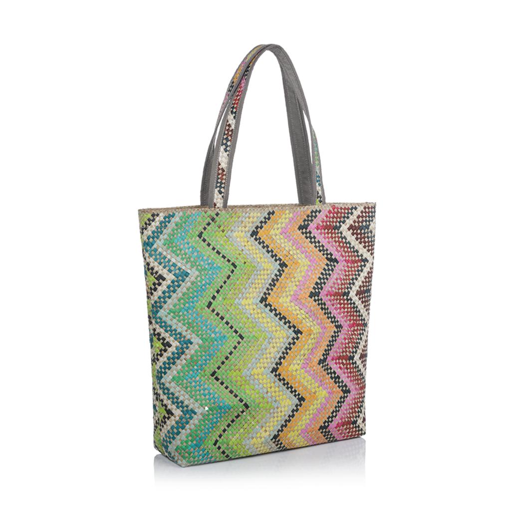 Zodax Bag - All Purpose - Mia - Small Multicolor Zigzag