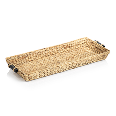 Zodax Tray - Water Hyacinth Rectangular - 30x16x3.25