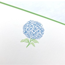 The Printery Boxed Notecards - Hydrangea