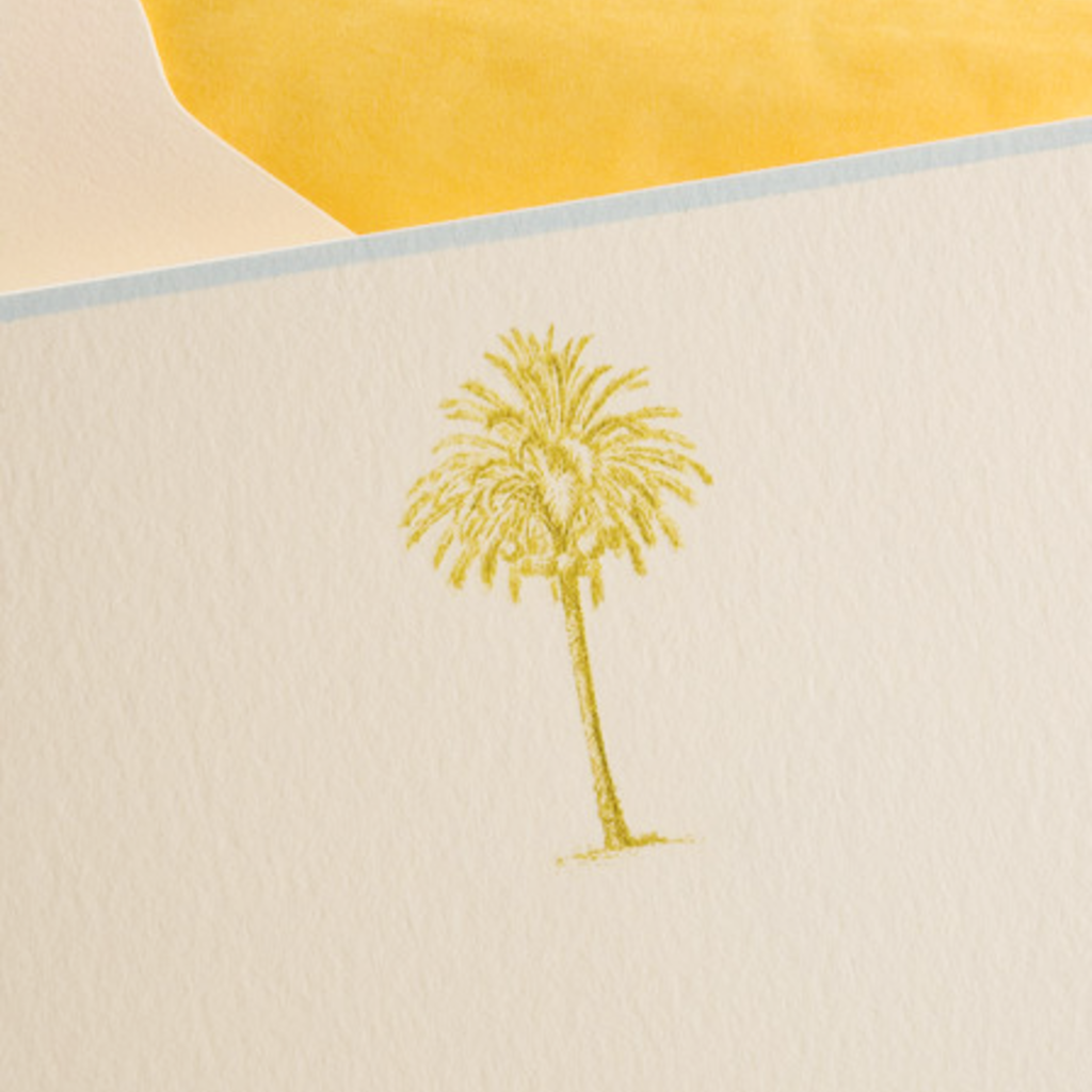 The Printery Boxed Notecards - Palm Tree - S/10