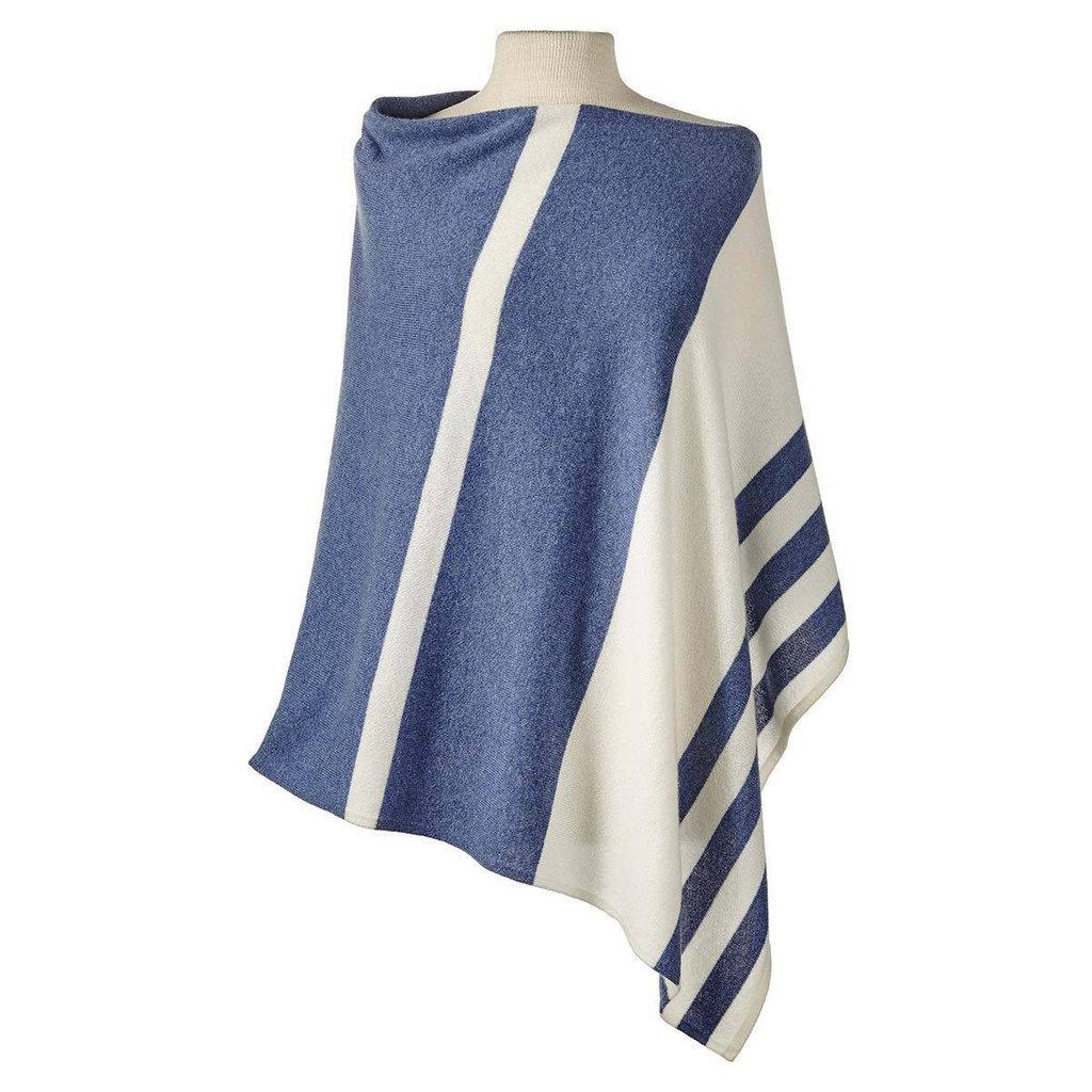 Balbianello Cashmere Cape - Striped - More Colors