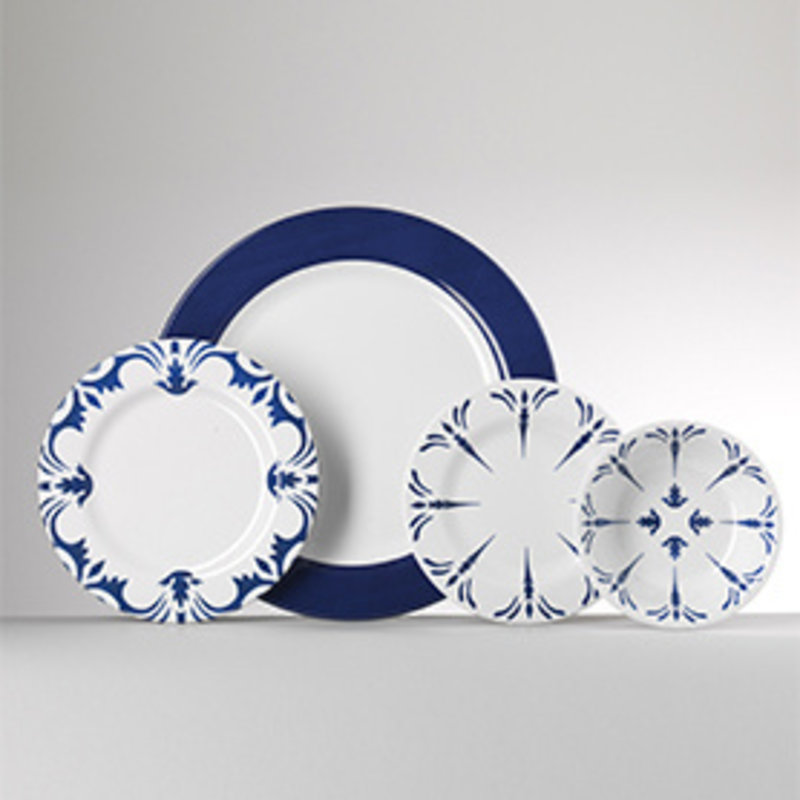 MH Tessa Melamine Dinnerware in Blue