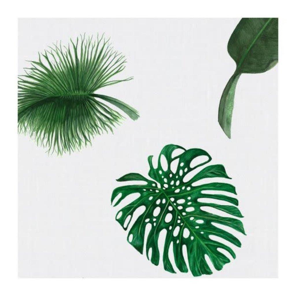 MH Napkin - Dinner - Tropical Leaves - Linen