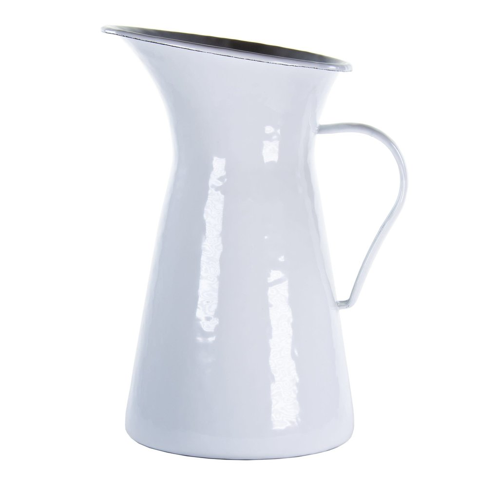 MH Solid - White - Pitcher- 2QT