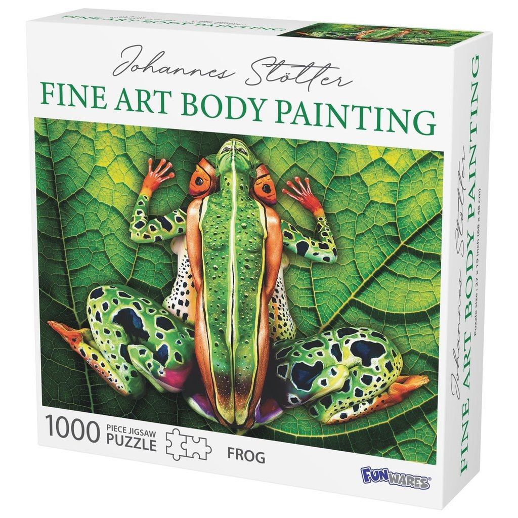 MH Puzzle - Johannes Stotter - Frog Body Art