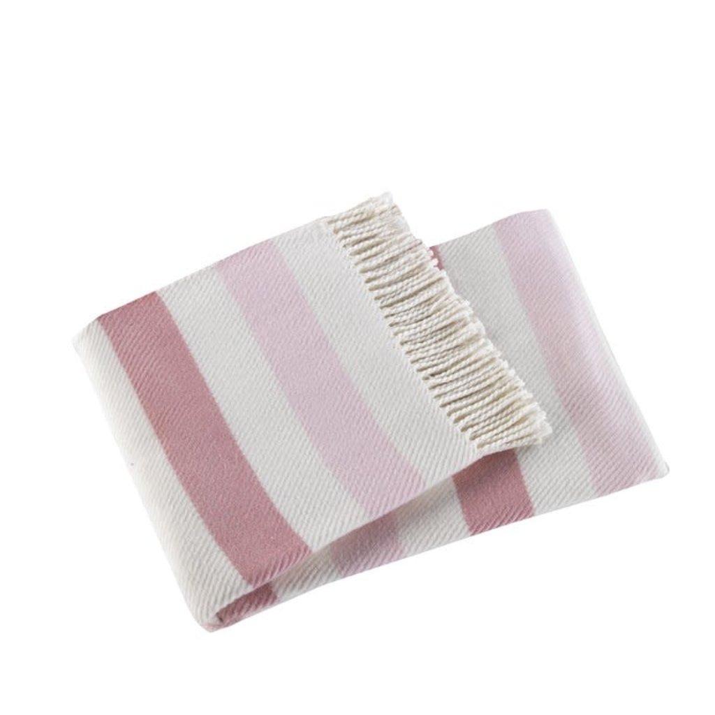 """MH Throw - Sweet Stripes - 50""""x 70"""" -"""