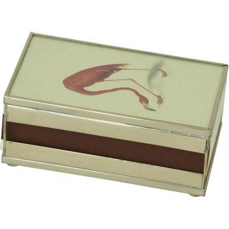 MH Matchbox Cover -  Flamingo