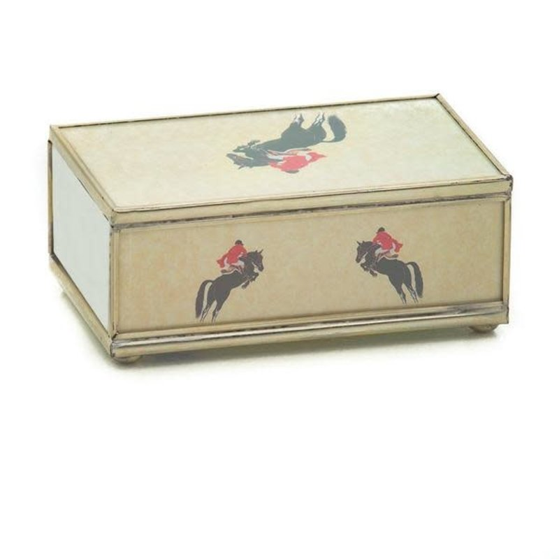 MH Matchbox Cover -  Jumping Horse