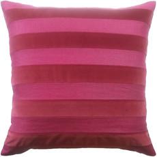 MH Parker Stripe - Pillow - Plumberry - 22x22