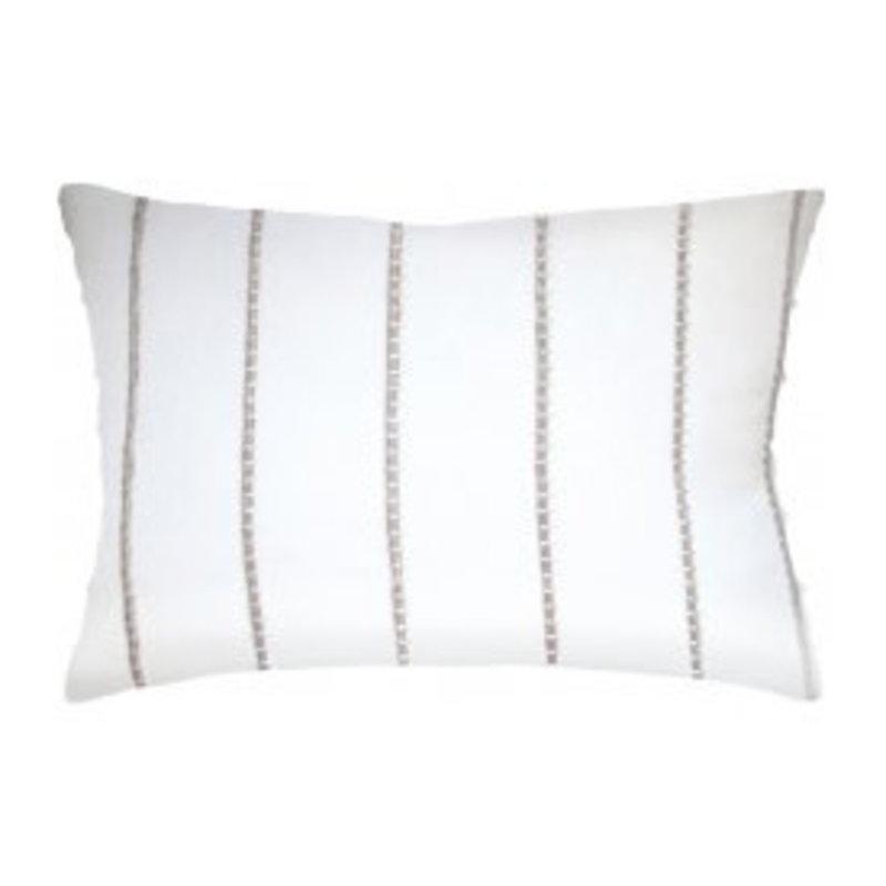 MH Sonjamb - Knife Edge - Pillow - Jute Straw - 14x20