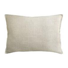 MH Kumano Weave - Flanged - Pillow - Ivory/Linen - 14x20