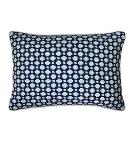 MH Betwixt - Piped Pillow -  Indigo - 14X20