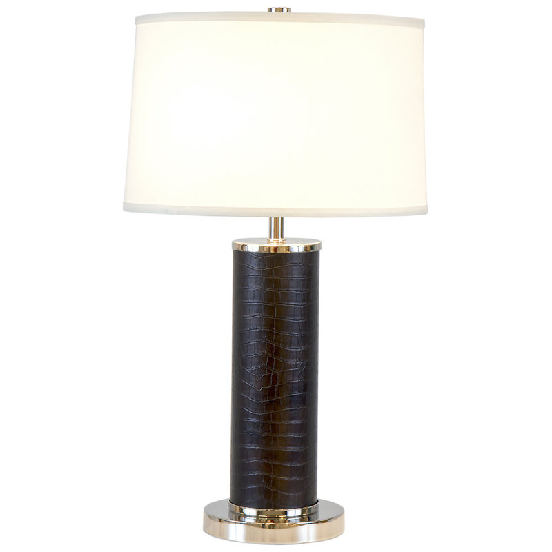 MH Table Lamp - Black Croc