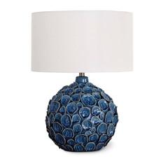 MH Table Lamp - Lucia Blue Ceramic