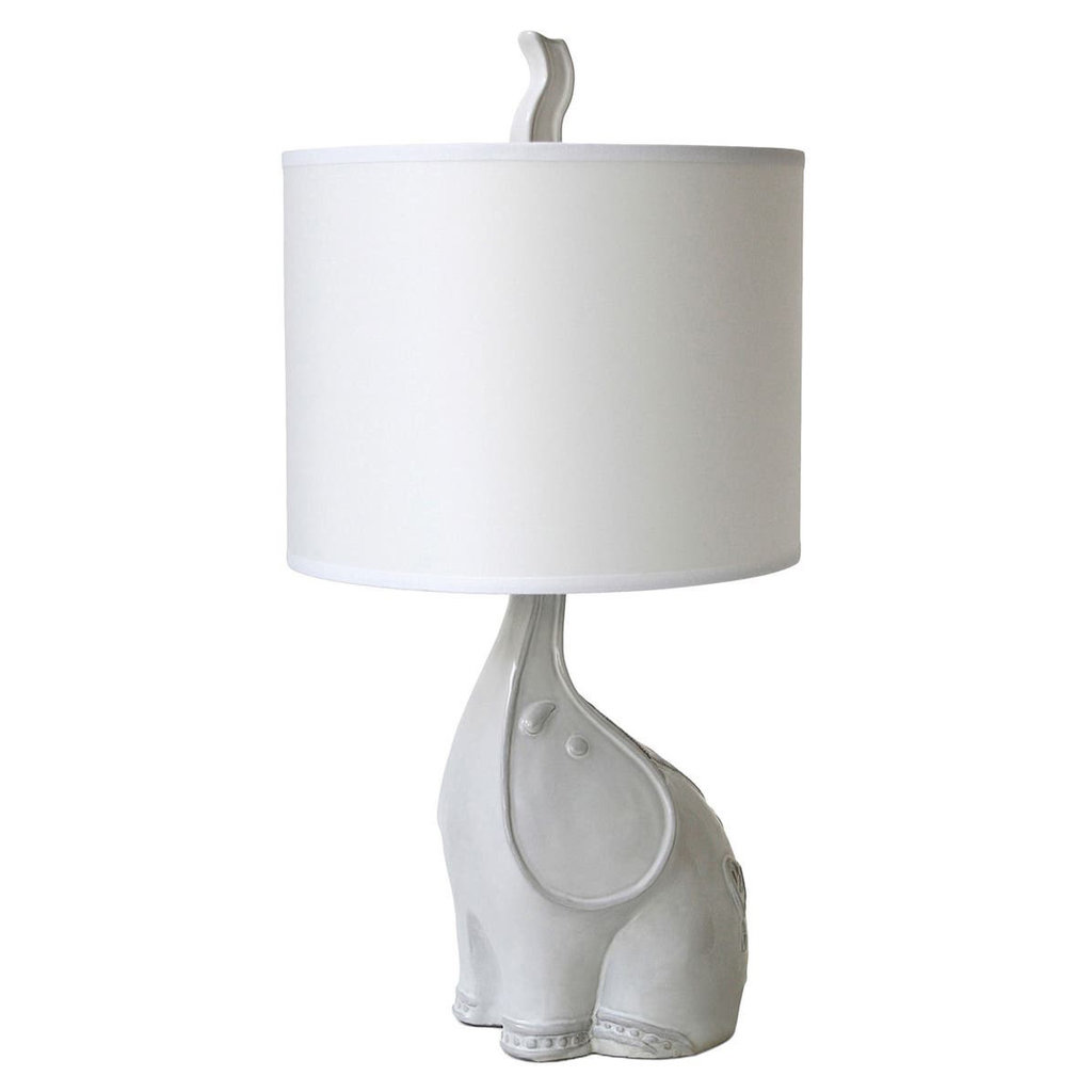 "MH Table Lamp - Jonathan Adler Elephant - 20""H"