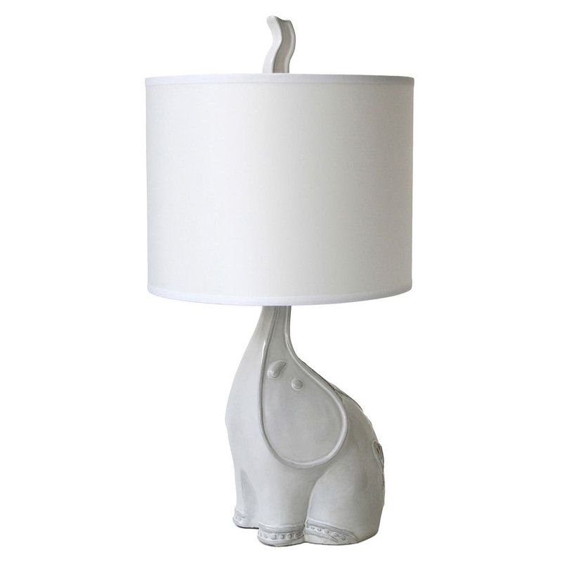 "MH Table Lamp - Jonathan Adler Elephant - 20""H"