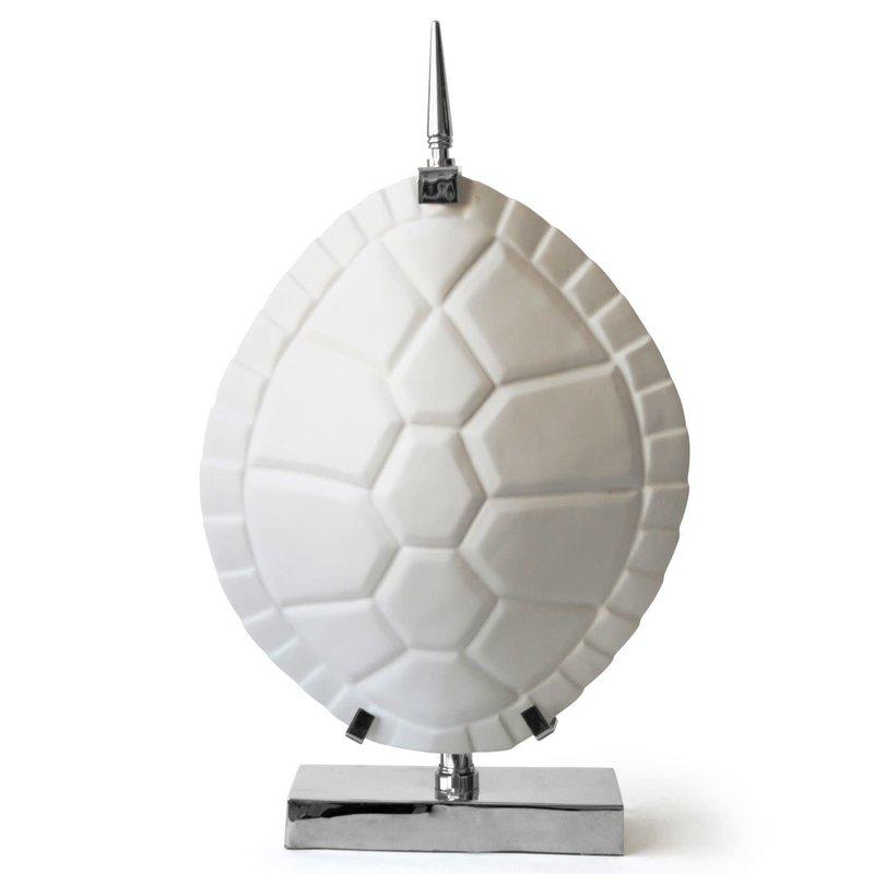 MH Table Lamp - Jonathan Adler White Tortoise