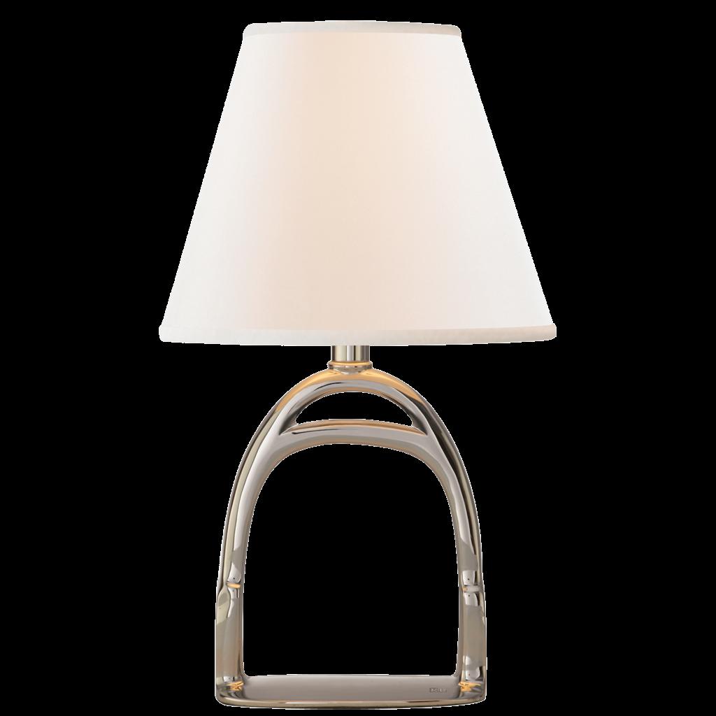 MH Table Lamp - Westbury Mini Lamp - Polished Nickel