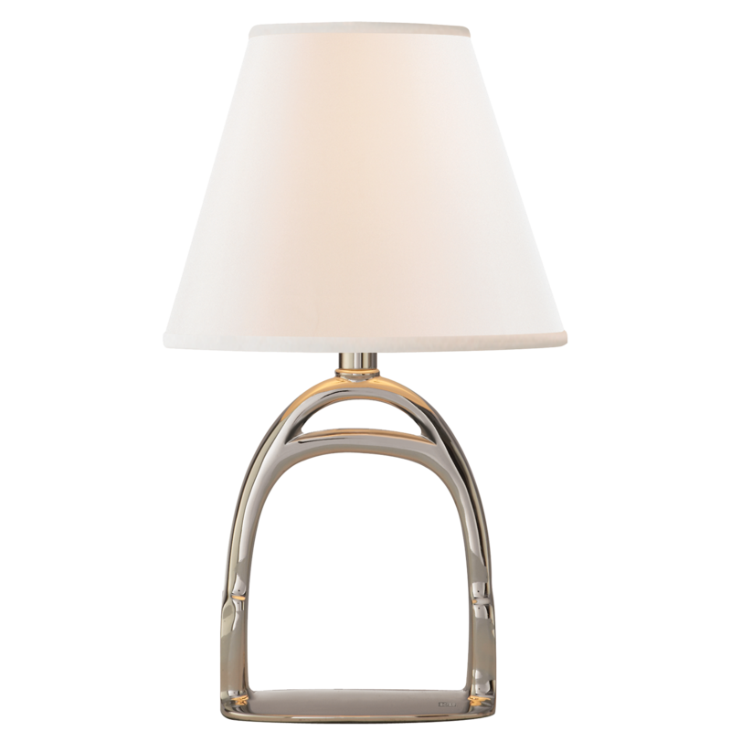 MH Table Lamp - Westbury Small Lamp - Polished Nickel