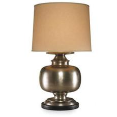 "MH Table Lamp - CARMEN - Nickel - Large - 32""H"