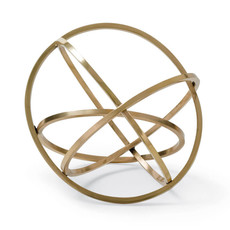 MH Object - Ellipse - Brass - 8.5x10x10.25
